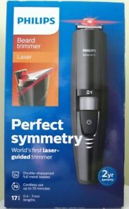 PHILIPS LASER BEARD TRIMMER CORDLESS RECHARGEABLE PRECISION TRIMMER SERIES 9000