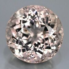 MORGANITE 3 MM ROUND CUT ALL NATURAL VVS SOFT PINK COLOR