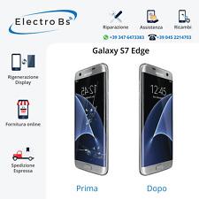 Rigenerazione Sostituzione Riparazione Vetro Rotto Display Samsung S7 Edge G935F