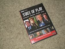State of Play (2 DVDs, 2008) BBC Video **SEALED