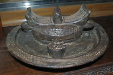 ancien plateau divinatoire Igbo Nigeria afrique ethnique