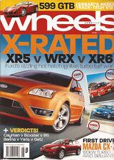 Wheels Jun 06 XR5 WRX XR6 CX7 Cayman Boxster 911 599 GTB RS4 Z4 R Class HSV DT C