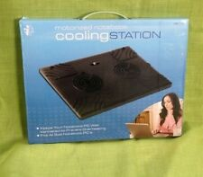 ICONCEPT MOTORIZED NOTEBOOK  PC COMPUTER COOLING STATION DC TO USB CABLE