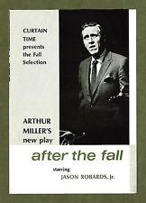 "Arthur Miller's ""AFTER THE FALL"" Faye Dunaway / Jason Robards, Jr. 1964 Flyer"