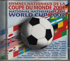 RARE CD ALBUM 32T / FOOTBALL / TOUS LES HYMNES DE LA WORLD CUP 2002 / ANTHEMS