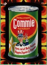 WACKY PACKAGES FLASHBACK2 COMMIE CLEANSER RARE PROMO P1