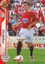N°155 CARLOS MERINO # CLUB GIMNASTIC FC.WACKER CARD PANINI MEGACRACKS LIGA 2007