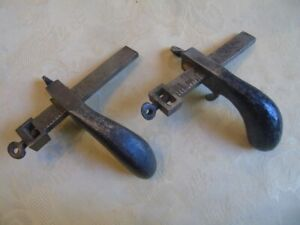 Vintage Leather Working Tools 2 C S Osborne Draw Gauges