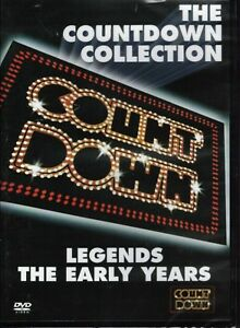 COUNTDOWN COLLECTION - Legends - The Early Years DVD NEW & SEALED Free Post