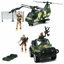 Retailery Peaceful Warrior Military Force Series Playset