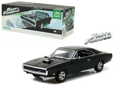 1/18 Greenlight Fast & Furious Dom's 1970 Dodge Charger Diecast Black 19027