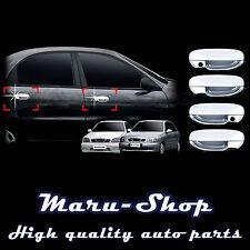 Chrome Door Handle Catch Cover Trim for 96~ Chevrolet Lanos/Sens 4DR/5DR/3DR
