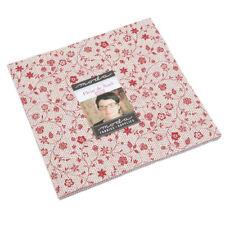 Moda Fabric Fleur De Noel Layer Cake - Patchwork Quilting 10 Inch Squares