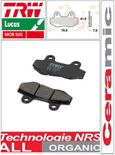 2 Plaquettes frein Avant Organic TRW Lucas  MCB525 SYM MF 180 03-