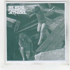 (FW527) We Were Promised Jetpacks, Roll Up Your Sleeves - 2009 DJ CD