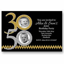 buy joint birthday invitations ebay