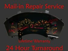 2004-2010 Infinity QX56 Instrument Cluster Speedometer Mail-in Repair Service