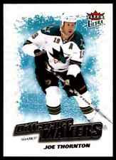 2008-09 Ultra Difference Makers  Joe Thornton #DM7