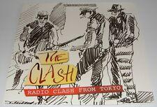The Clash - Radio Clash From Tokyo LP LTD Just 1000 Made On Clear Vinyl Strummer