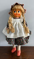 Vintage cloth composition Cloth Doll Folk Art Unknown Orgin