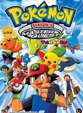 Anime Pokemon Season 5 Master Quest Complete ENGLISH DVD Box Set - OFFER PRICE