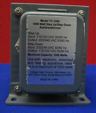 HYBRINETICS TC-1000 STEP UP/STEP DOWN 1000 WATT AUTOTRANSFORMER