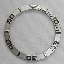 Bezel insert fits Yachtmaster and Seiko 6309, 7002, 7S26 watch models