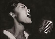Billie Holiday chanteur Soul Blues Icon Poster Art Imprimé A3 Taille GZ2151
