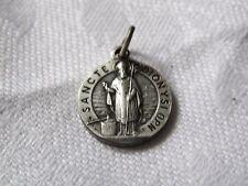 Antique Catholic Religious Medal Sancte Dionysi O.P.N.
