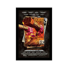 JODOROWSKY'S DUNE - 11x17 Framed Movie Poster by Wallspace