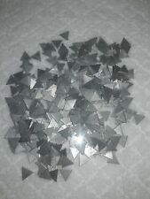 """Aluminum Triangle Stamping Blanks - 4.70 oz Lot - 1/4"""""""