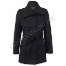 Cappotti e giacche da donna in lana con bottone, taglia 38