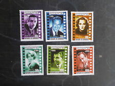 CAMBODIA 2001 CINEMA GREATS SET 6 MINT STAMPS MUH GABLE COOPER ECT