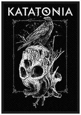KATATONIA - Aufnäher Patch Crow Skull 7x10cm