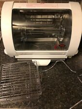Baby George Foreman Rotisserie Oven Model GR59A Near Mint CLEAN!