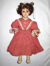 "19"" Porcelain & Cloth Doll by Seymour Mann"