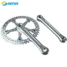 Single Speed Fixed Gear 48T CNC Chainring Crank Sprocket Aluminum Alloy