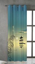 TSUKI OSOKU Cortina japonesa con ojales metálicos 150x260 / Japan Curtain