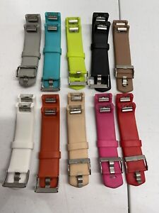 Lot of 10 Replacement Band Strap Wristband Bracelet for Fitbit Charge 2