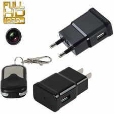 Mini HD 1080P DVR Hidden SPY Wall Charger Camera Adapter Plug Nanny Cam Recorder