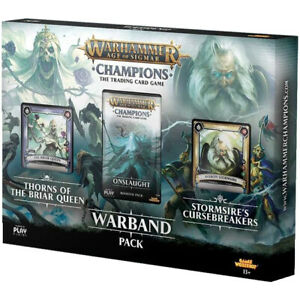 Warhammer Age of Sigmar Champions TCG Warband Deck Series 1 Briar Queen and Stor