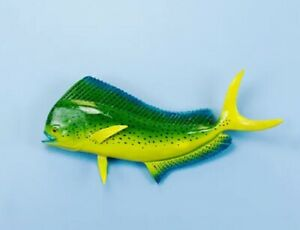 "Taxidermy  Mahi Mahi 12"" Fish Mount - Wall mount Decor -Fish Replica"