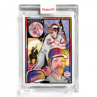 Topps Project70 Card 162 - 1981 Wade Boggs by Efdot Project 70 Boston Red Sox