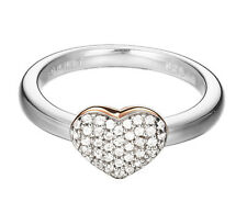 Esprit ES-love swing ESRG92356B180 Damenring 925 Silber mit rose Gr.56 neu