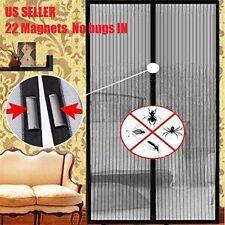 22 Magnets Magic Mesh Screen Net Door Mesh Anti Mosquito Bug Curtain NoBox Usa