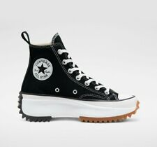 New Converse Run Star Hike Hi Shoes Sneakers (166800C) - Black