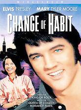 Change of Habit (DVD, 2002 Elvis Presley Mary Tyler Moore Ed Asner rare oop