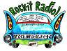Rock-it Radio T Shirt -- Original Design  #09 Rock-it Radio Classic with Fins!