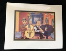 Will Rafuse Art Print * Jazz Cat Alley II * Sealed Frame Size 8x10 Litho