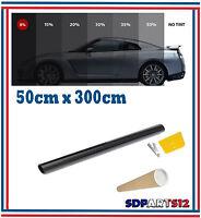 Film Solaire De Qualité 3m x 50 cm, Teinté 5% VLT (couleur Noir) Auto,Batiment